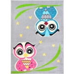 Funky Top Owl Grey